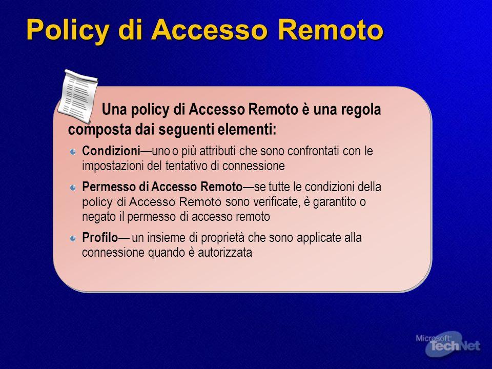 Policy di Accesso Remoto