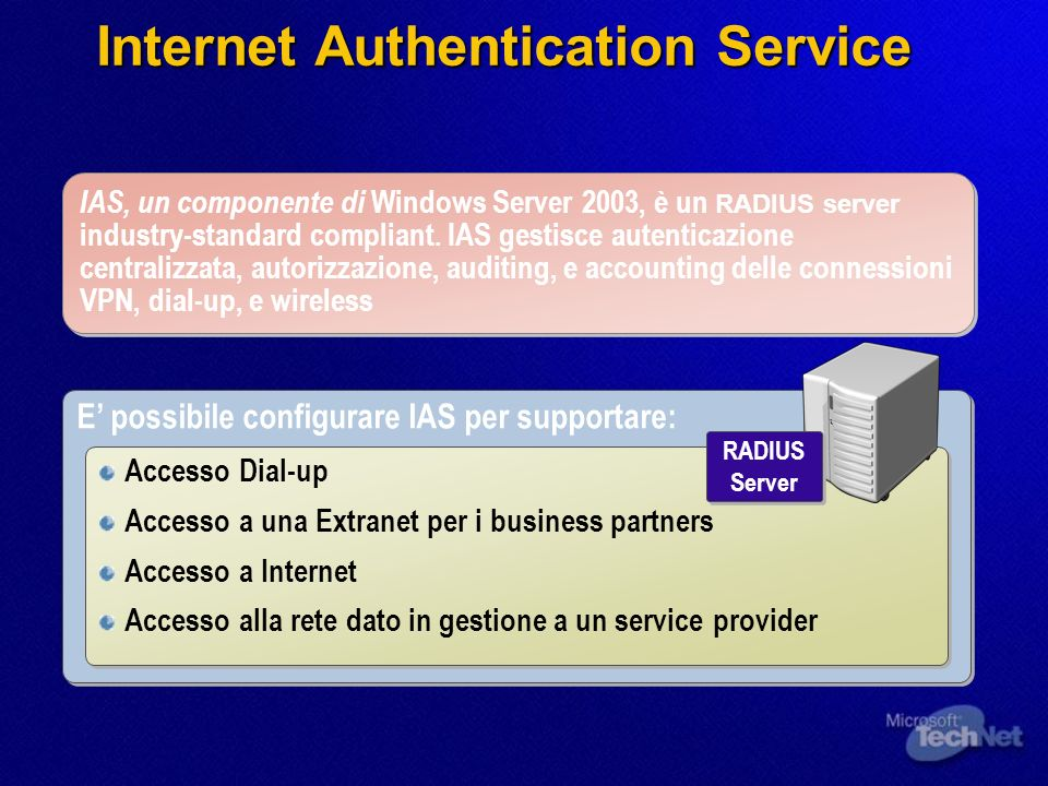 Internet Authentication Service