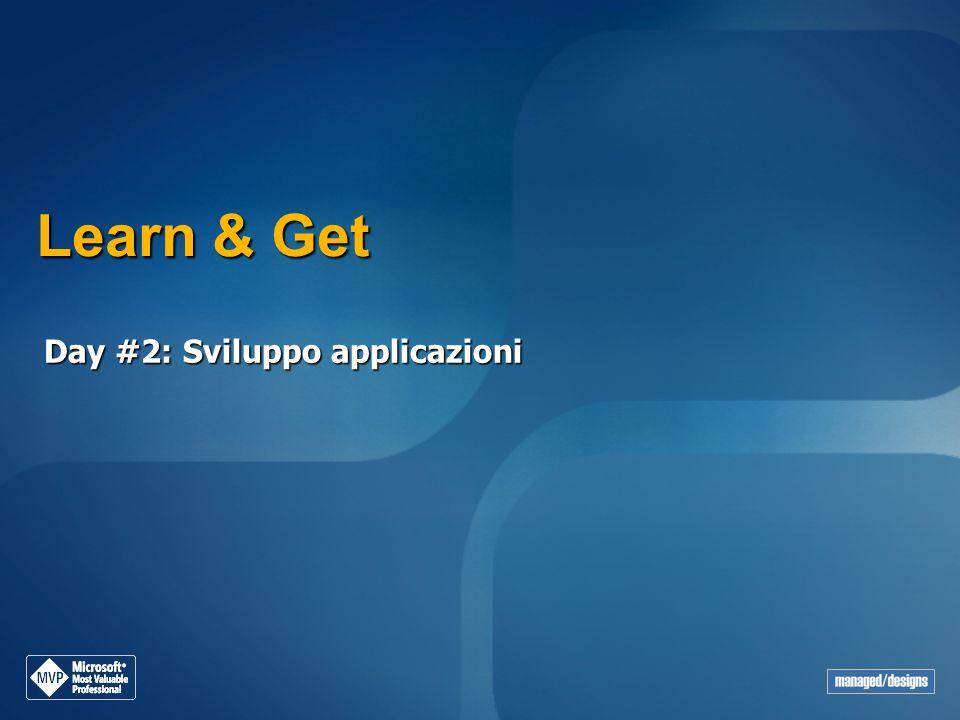 Learn & Get Day #2: Sviluppo applicazioni