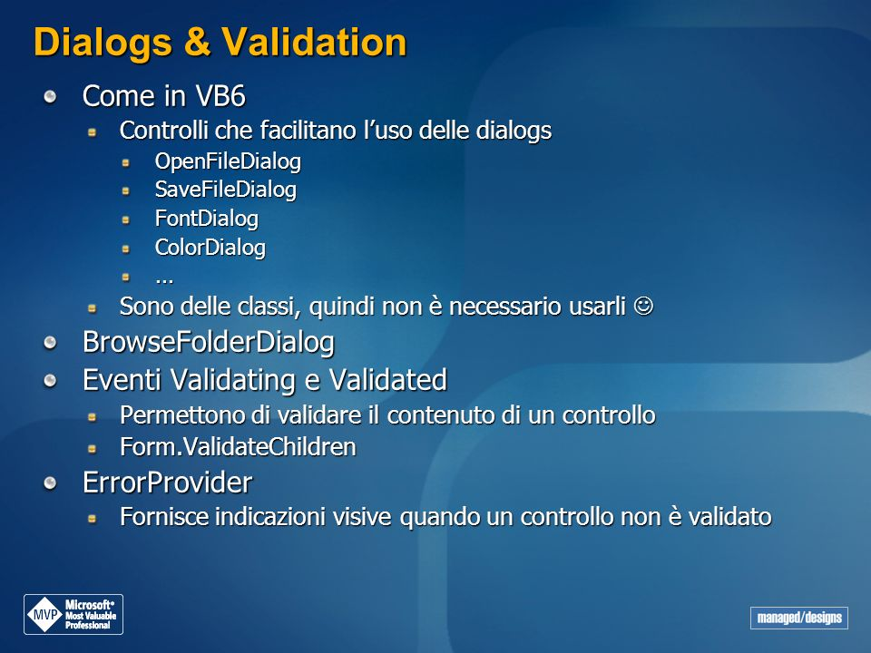 Dialogs & Validation Come in VB6 BrowseFolderDialog