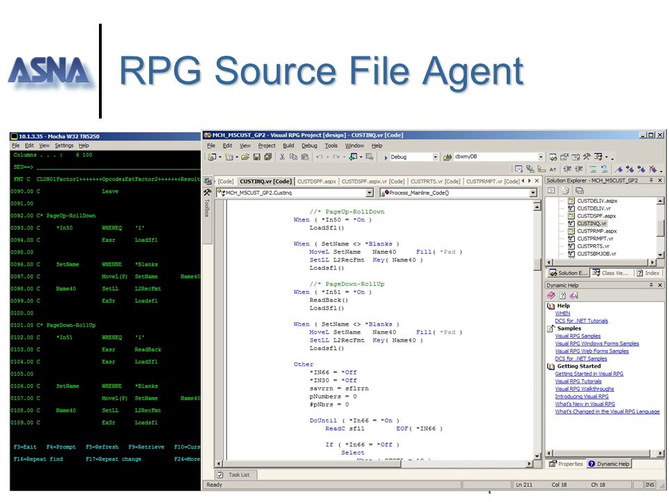 RPG Source File Agent