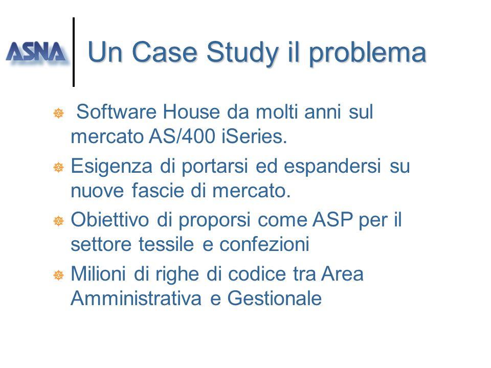 Un Case Study il problema