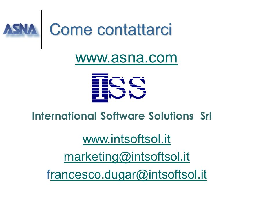 International Software Solutions Srl