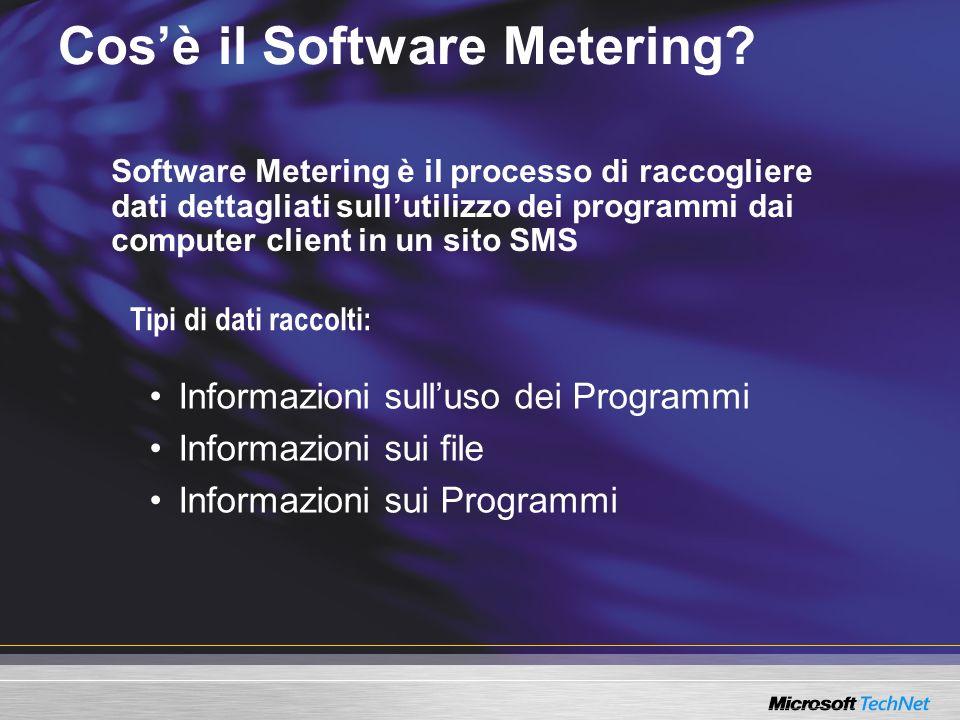 Cos'è il Software Metering