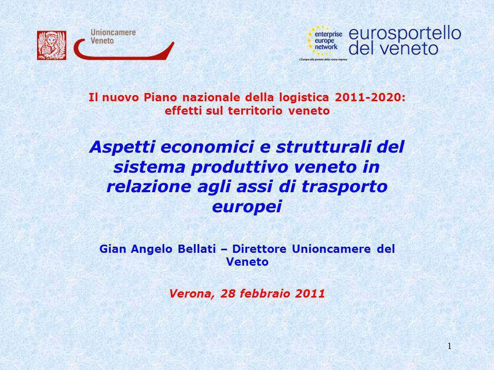 Gian Angelo Bellati – Direttore Unioncamere del Veneto