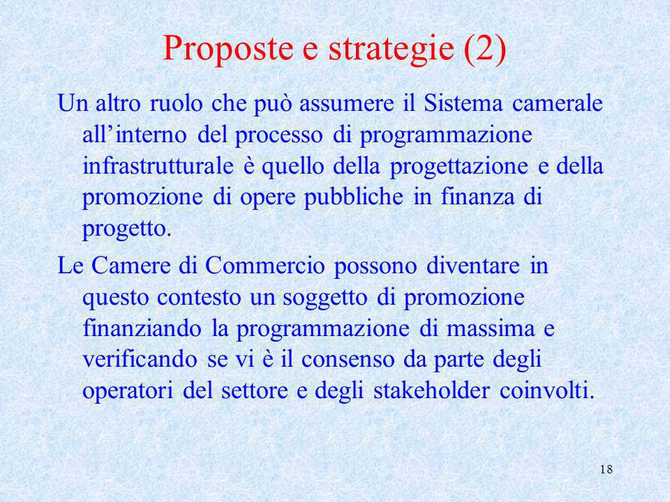 Proposte e strategie (2)