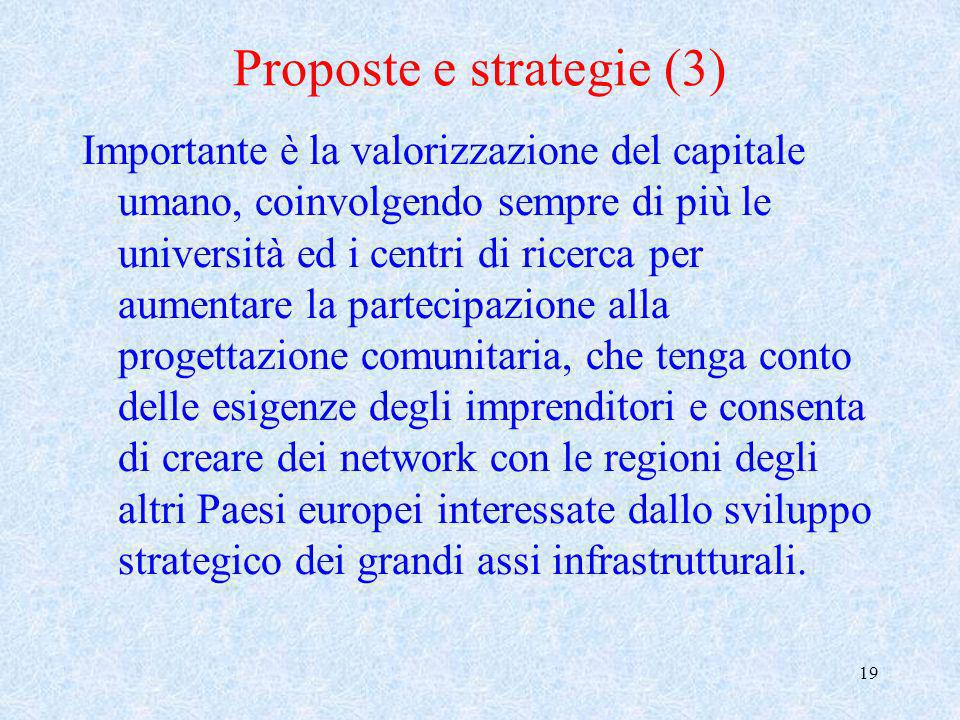 Proposte e strategie (3)