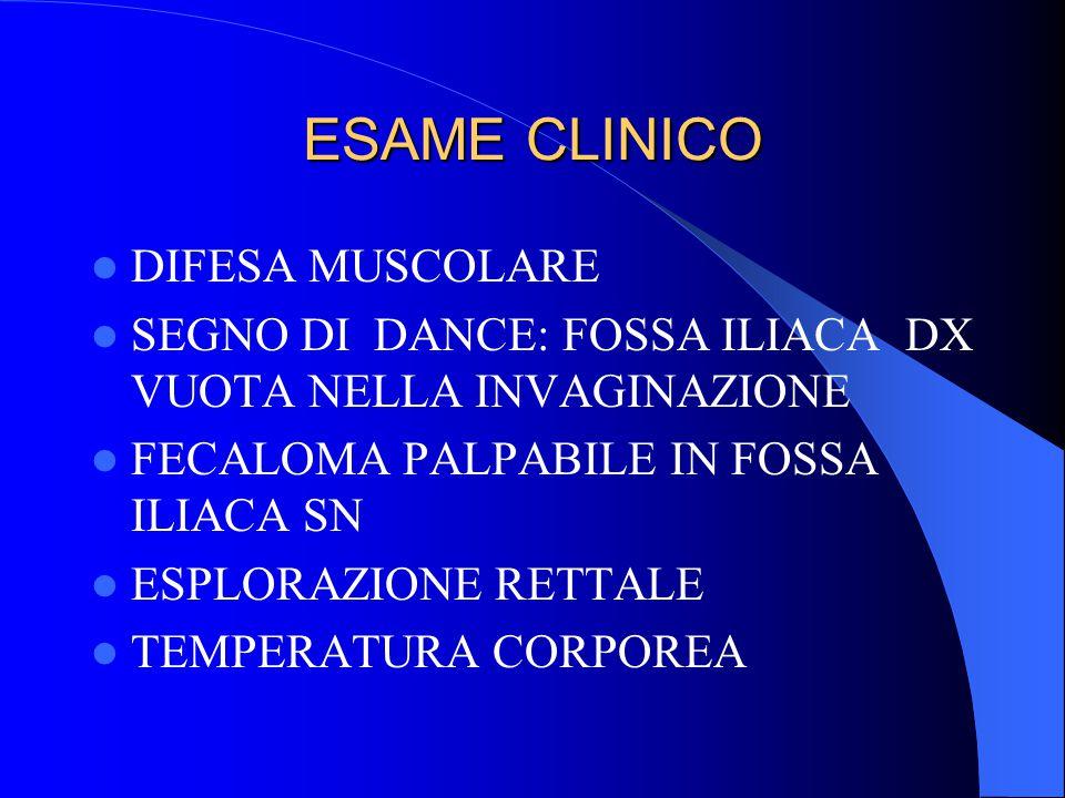 ESAME CLINICO DIFESA MUSCOLARE