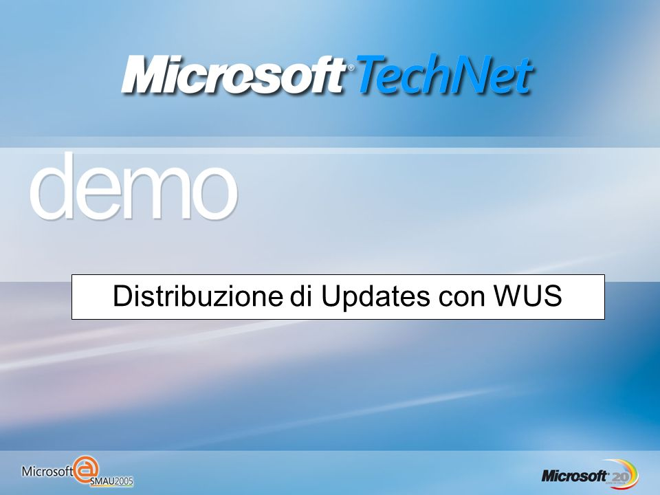 Distribuzione di Updates con WUS