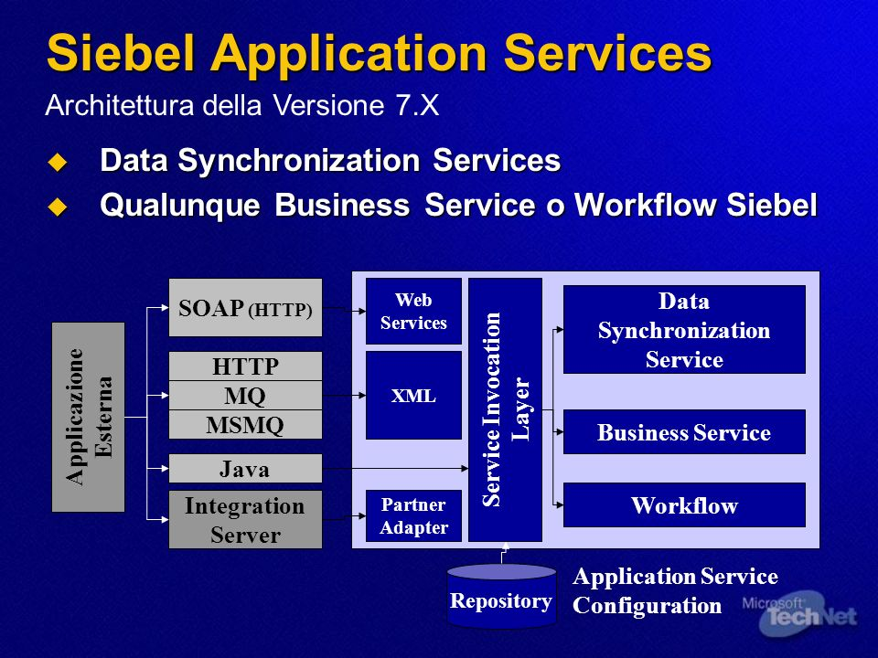 Siebel Application Services