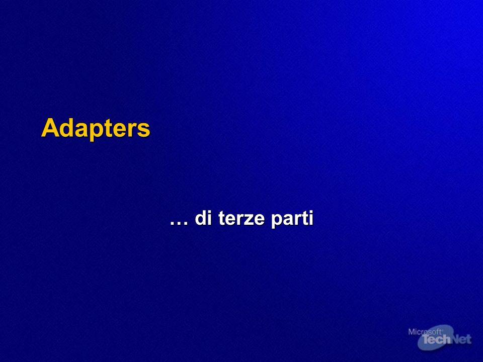 Adapters … di terze parti