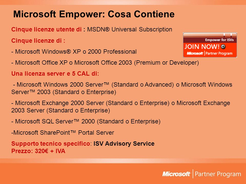 Microsoft Empower: Cosa Contiene