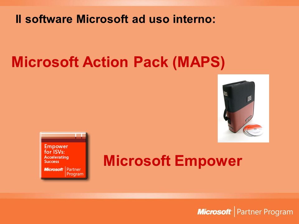 Il software Microsoft ad uso interno: