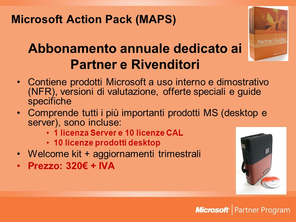 Microsoft Action Pack (MAPS)