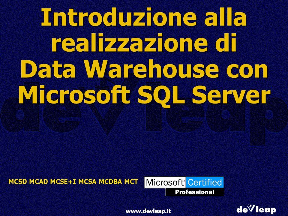 Introduzione alla realizzazione di Data Warehouse con Microsoft SQL Server
