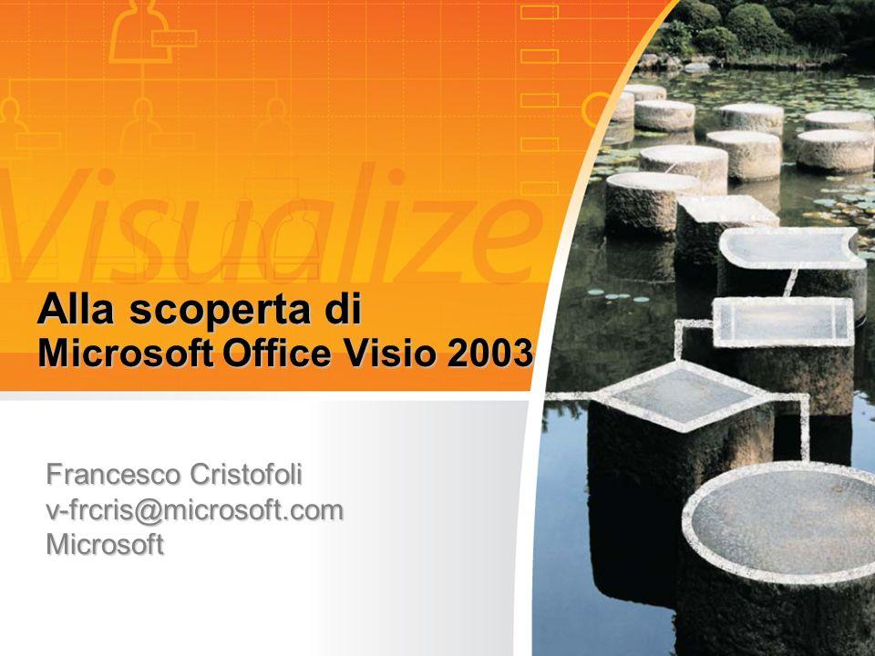 Alla scoperta di Microsoft Office Visio 2003