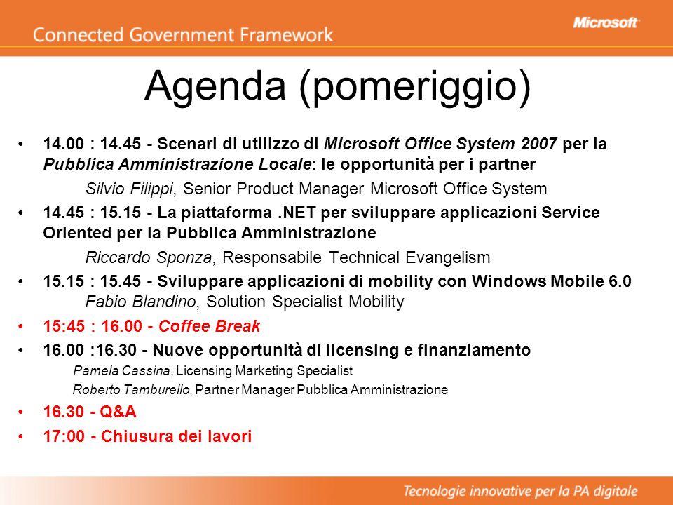Agenda (pomeriggio)