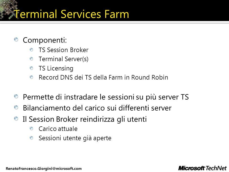 Terminal Services Farm