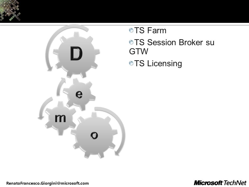TS Session Broker su GTW TS Licensing