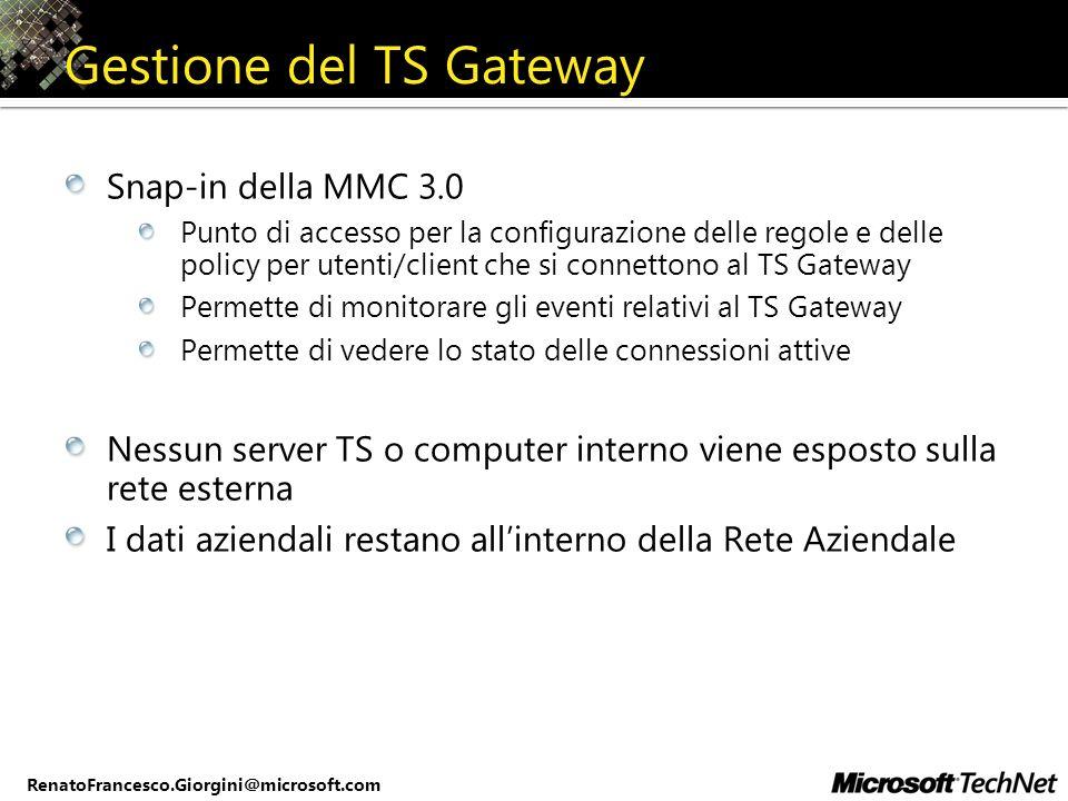 Gestione del TS Gateway