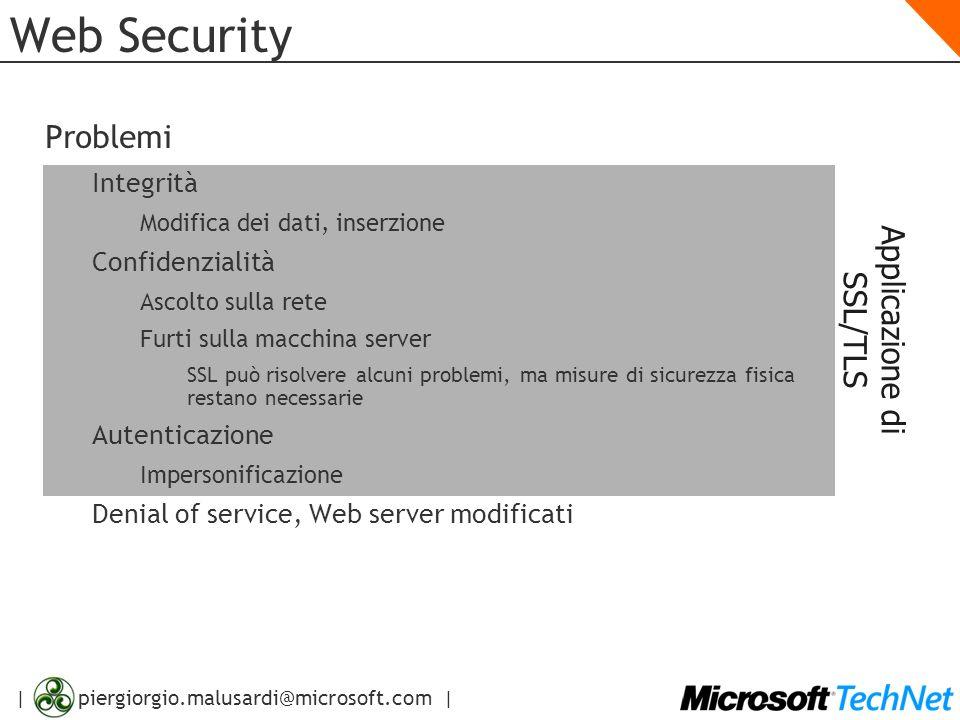 Applicazione di SSL/TLS