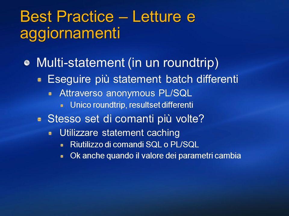 Best Practice – Letture e aggiornamenti