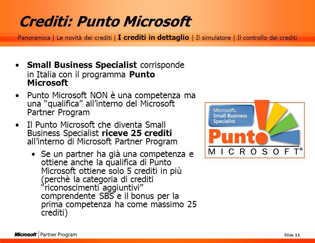 Crediti: Punto Microsoft