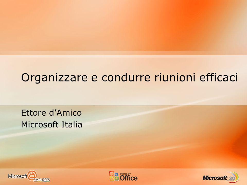 Organizzare e condurre riunioni efficaci
