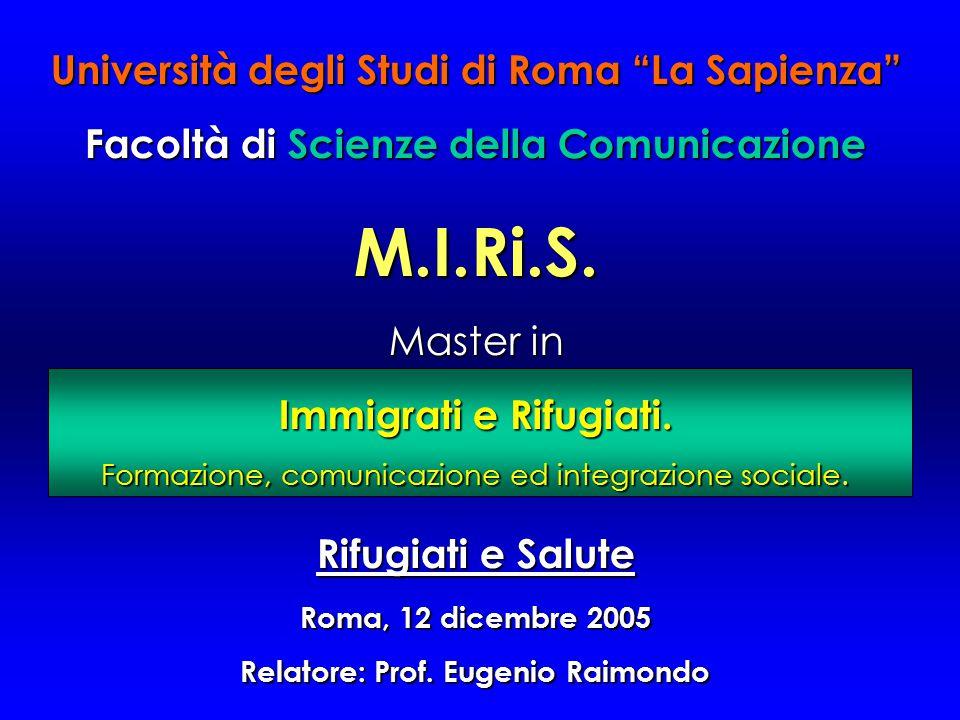 M.I.Ri.S. Università degli Studi di Roma La Sapienza