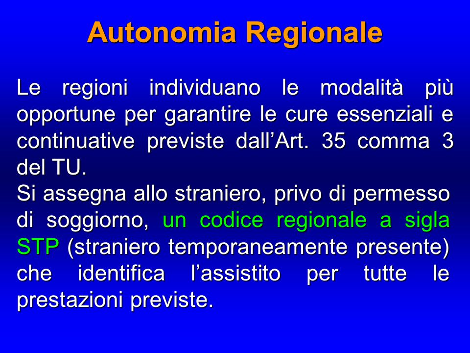 Autonomia Regionale