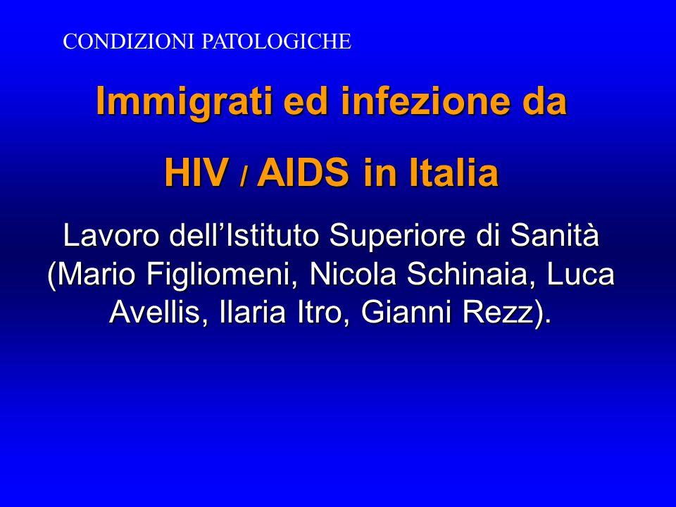 Immigrati ed infezione da