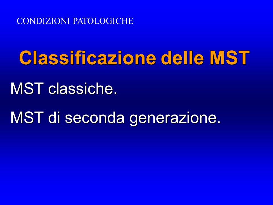 Classificazione delle MST