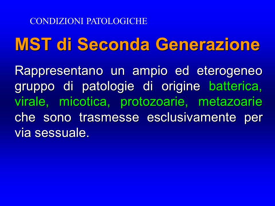 MST di Seconda Generazione