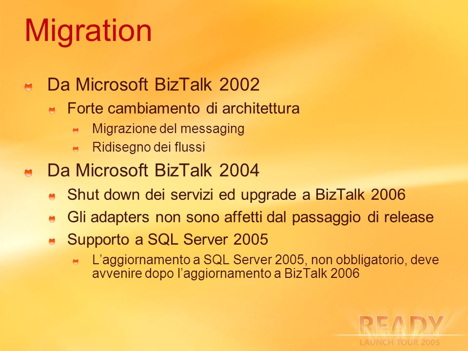 Migration Da Microsoft BizTalk 2002 Da Microsoft BizTalk 2004