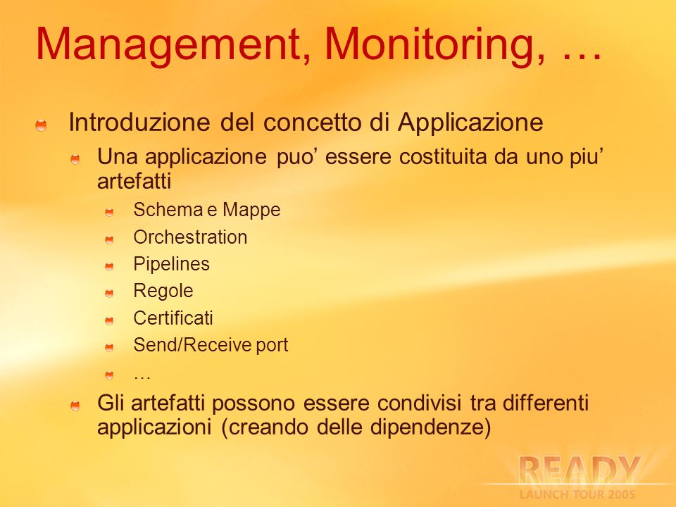 Management, Monitoring, …