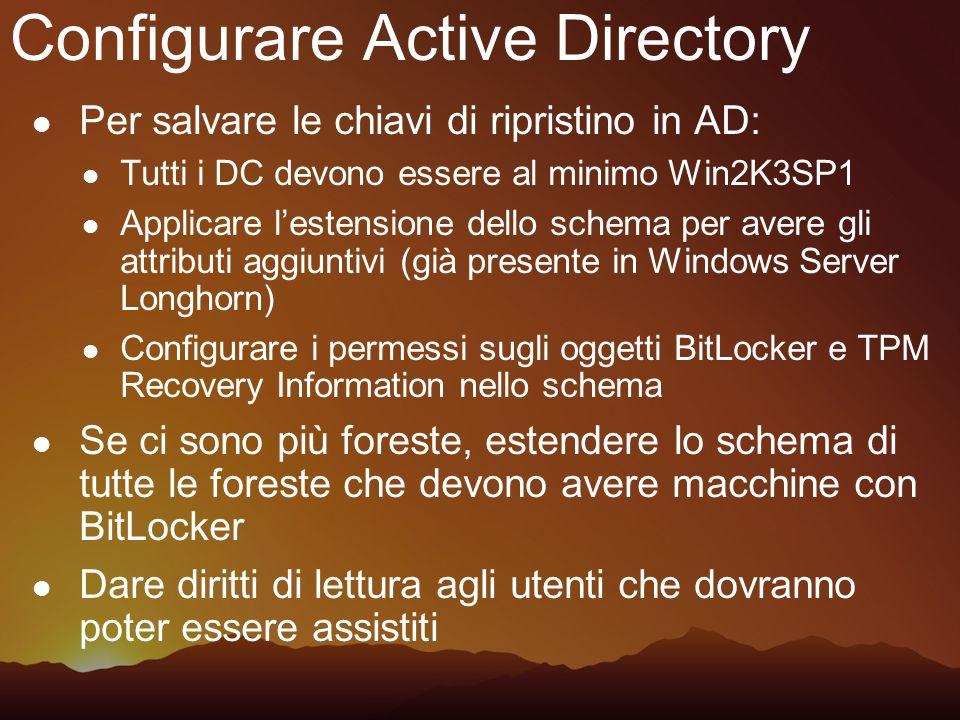 Configurare Active Directory