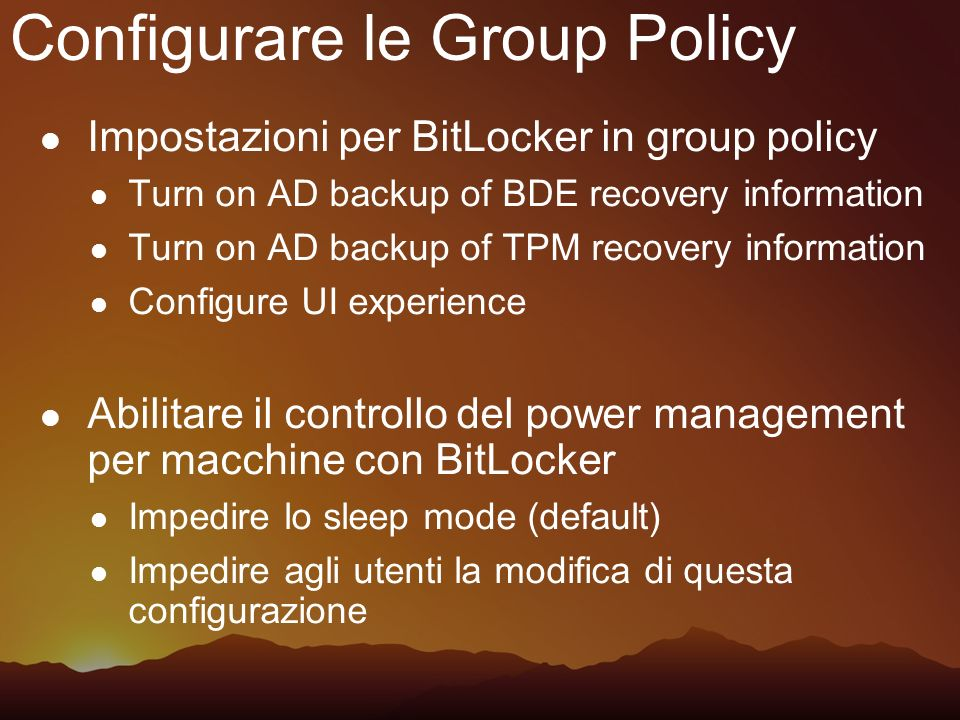 Configurare le Group Policy