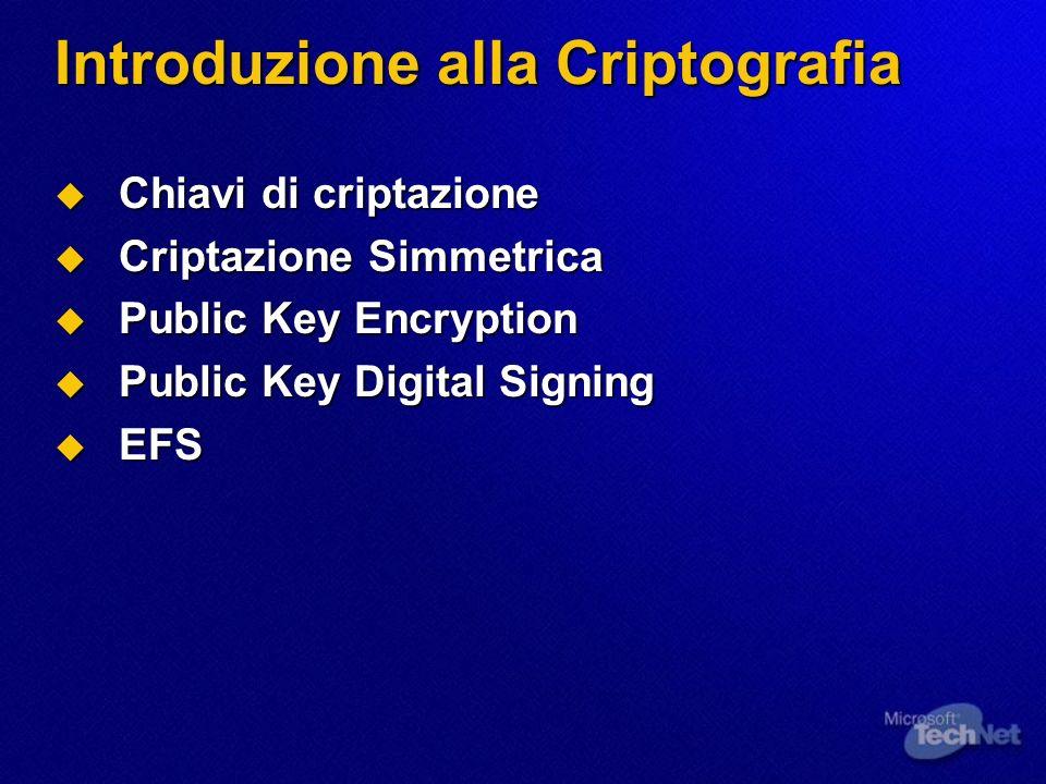 Introduzione alla Criptografia
