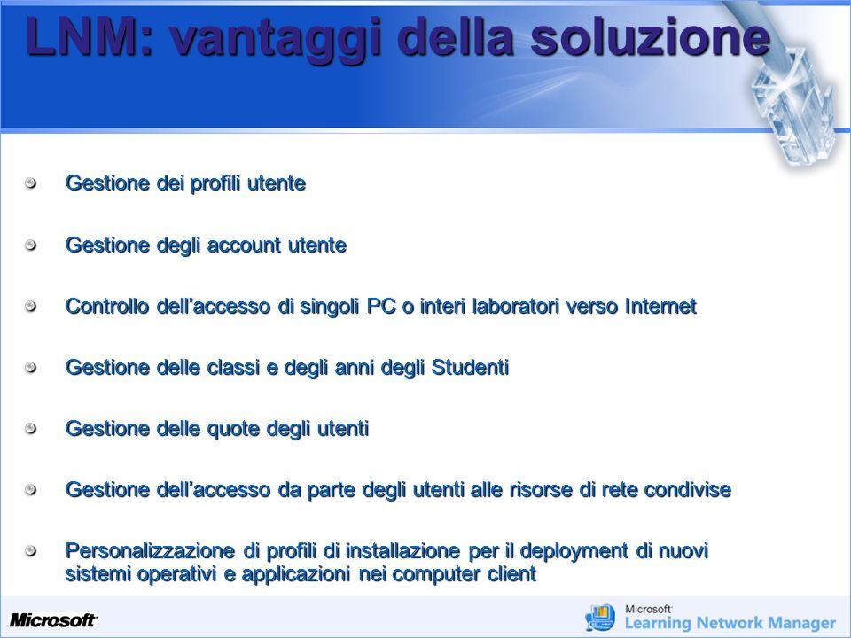 LNM: vantaggi della soluzione
