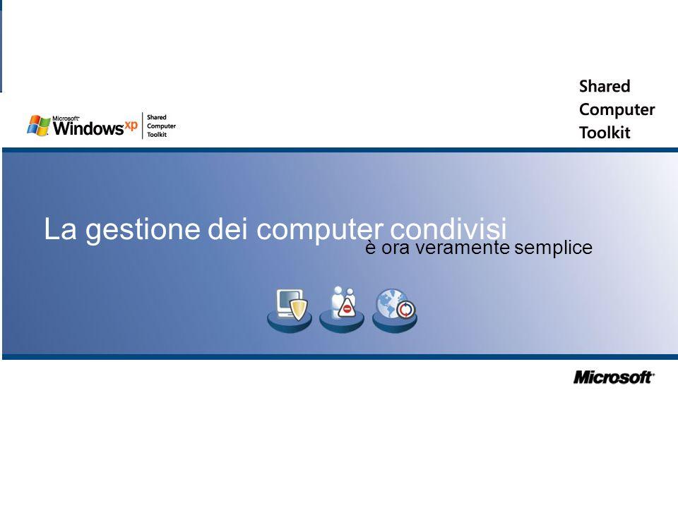 La gestione dei computer condivisi