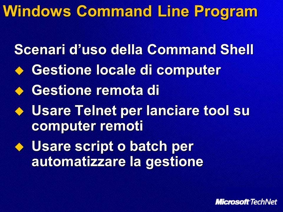 Windows Command Line Program