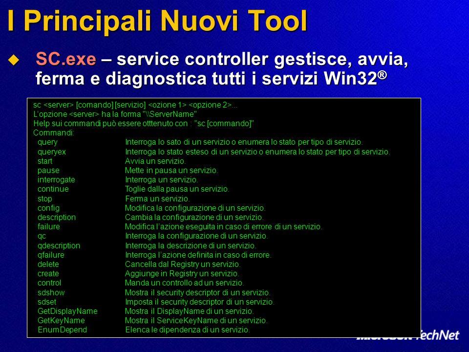 I Principali Nuovi Tool