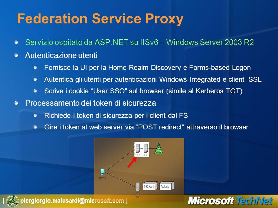 Federation Service Proxy