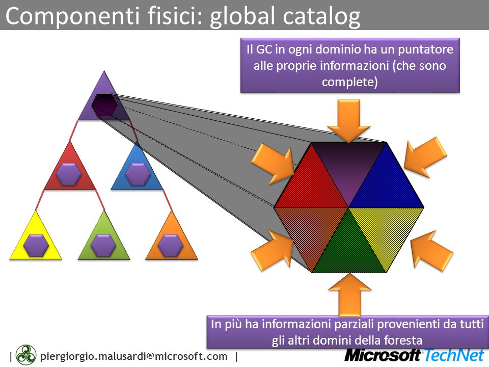 Componenti fisici: global catalog