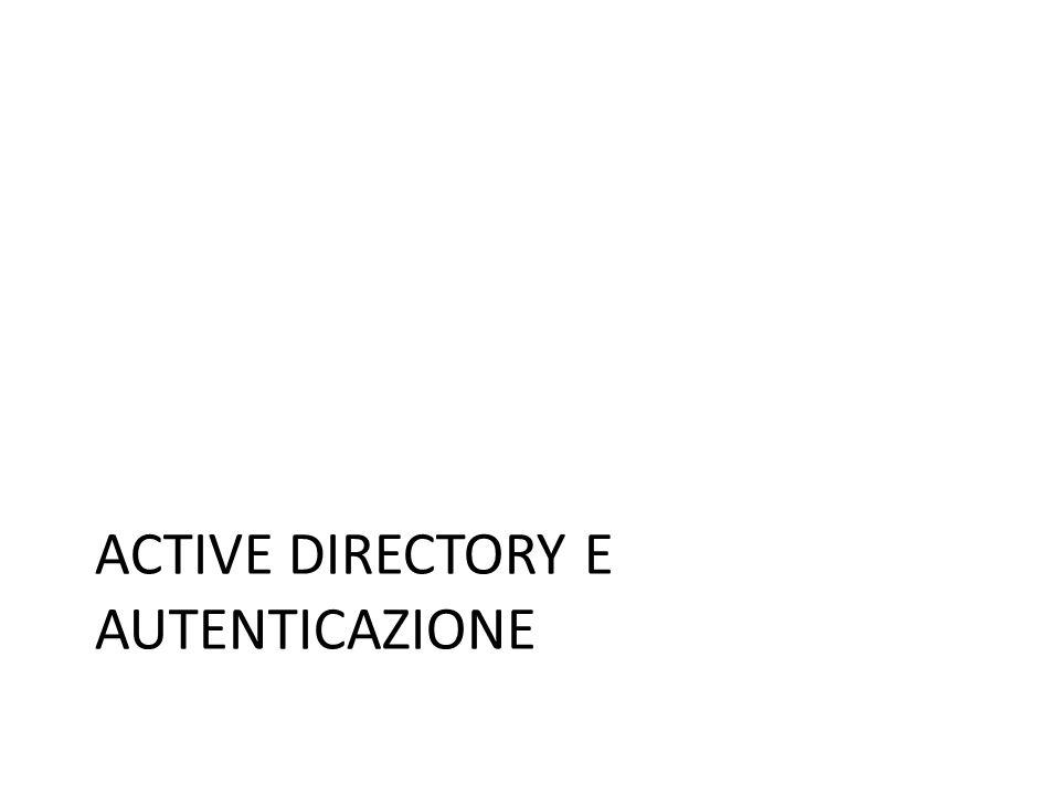 Active Directory e Autenticazione
