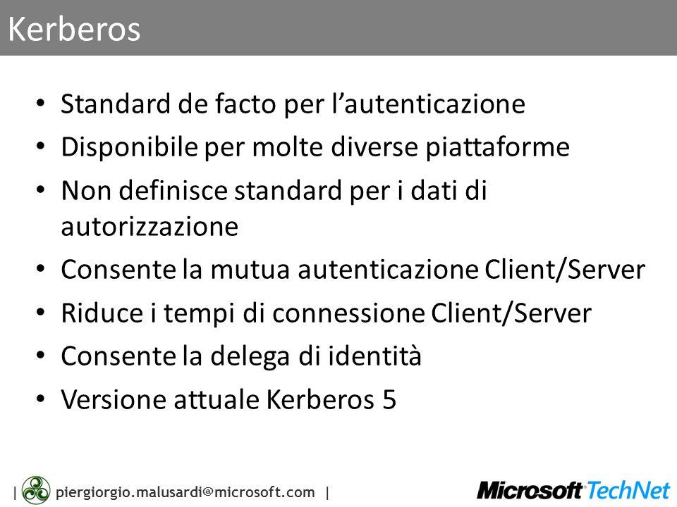 Kerberos Standard de facto per l'autenticazione