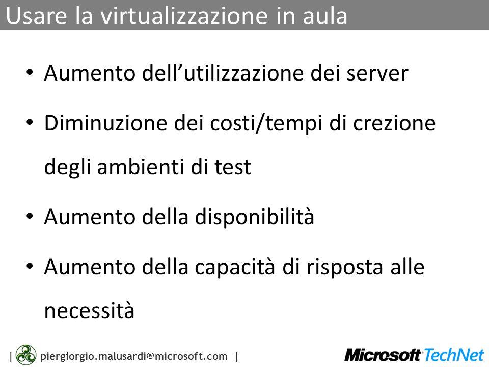 Usare la virtualizzazione in aula