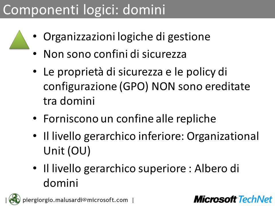 Componenti logici: domini