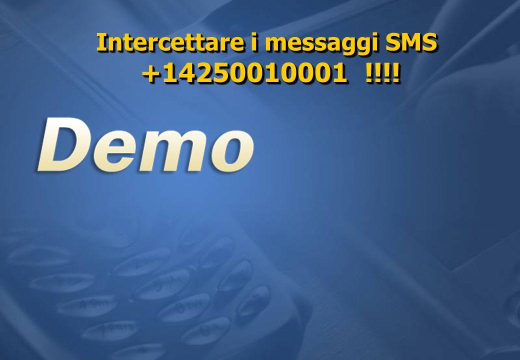 Intercettare i messaggi SMS +14250010001 !!!!
