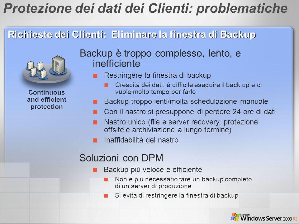 Protezione dei dati dei Clienti: problematiche